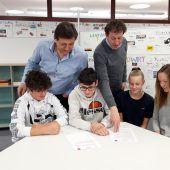 Mittelschüler holen sich Bewerbungstipps