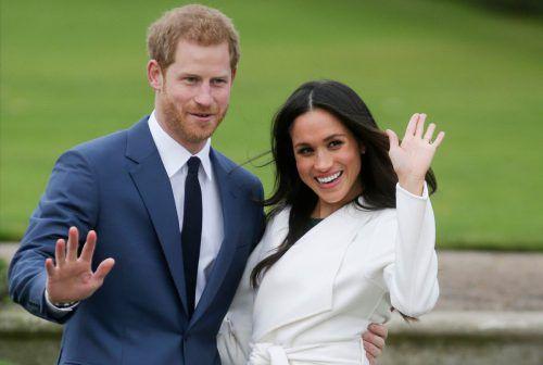 Prinz Harry und Meghan ziehen sich aus den Pflichten des Königshauses zurück. Sie möchten arbeiten und finanziell unabhängig werden. AFP