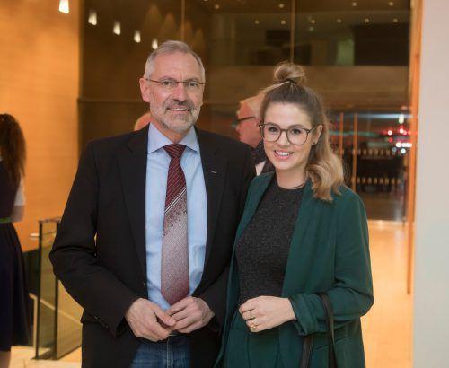 Rainer Fitz und Susanne Moll (Landespolizeidirektion).