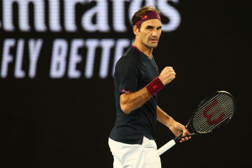 Roger Federer stand schon mit dem Rücken zur Wand, siegte dann aber doch noch gegen John Millman. Und ist damit der Erste Mensch, der 100 Siege in Melbourne schaffte.Reuters