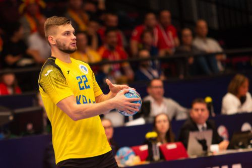 Roman Chychykalo blieb gegen Österreich ohne Torerfolg.GEPA