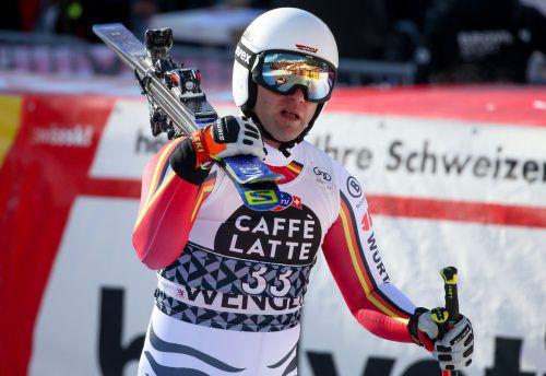 Romed Baumann startet für den deutschen Skiverband neu durch. gepa