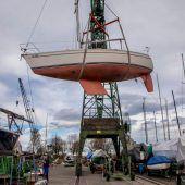 Ein Winterquartier für 100 Boote