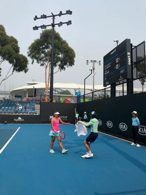 Schon in Qualifikationsrunde eins musste sich Julia Grabher beim ersten Grand-Slam-Turnier des Jahres geschlagen geben.Luisser
