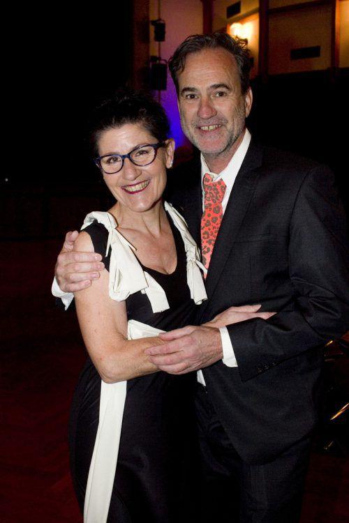 Sichtlich Spaß hatten Brigitte und Gerhard Ellensohn.