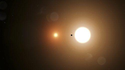 Spektakuläre Entdeckung eines Nasa-Schülers: eine Welt mit zwei Sonnen. nasa