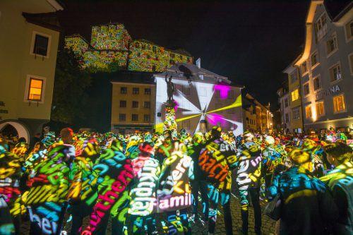 """Städtische Förderung für Publikumsrenner """"Lichtstadt Feldkirch"""" sorgt für Knatsch zwischen Volkspartei und Grünen sowie Debatten in der Montfortstadt.VN/Hartinger"""