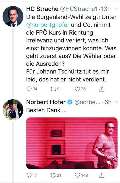 Strache kritisiert die neue FPÖ-Führung, und diese schlägt zurück.