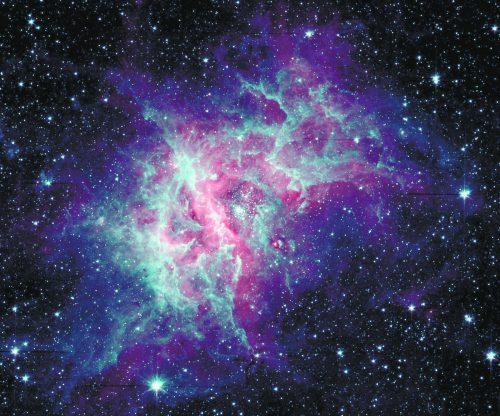Tausende Wissenschafter haben mit Spitzer das All beobachtet. APA