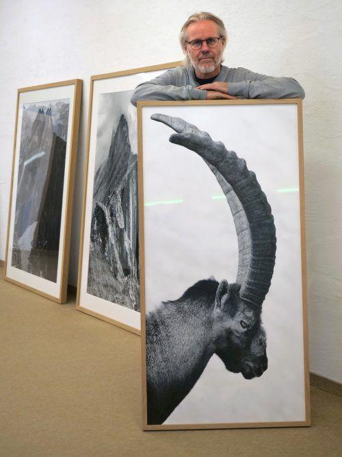 """Unter dem Titel """"Bergwelten"""" zeigt Peter Mathis in der Galerie Lände eine Auswahl seiner Fotografien. HV"""