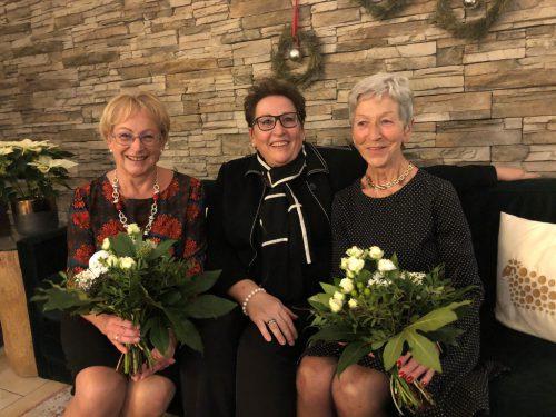 V. l. n. r.: Christl Schreck, Rosmarie Geier und Brigitte Dell Osbel. PVÖ