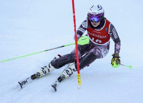 Victoria Olivier gab bei den Future-Champions in Kitzbühel eine Talentprobe ab. gepa