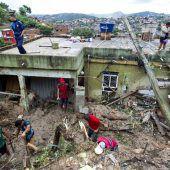 Unwetter in Brasilien fordert fast 50 Tote