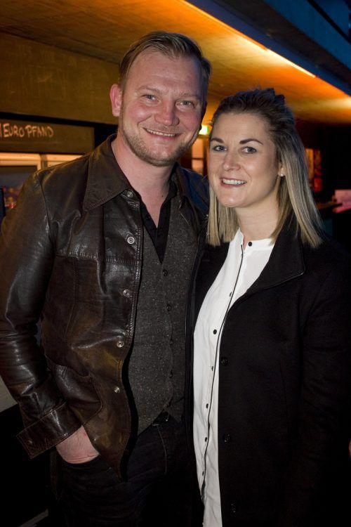 Vollblutmusiker Daniel Benzer und Sarah.