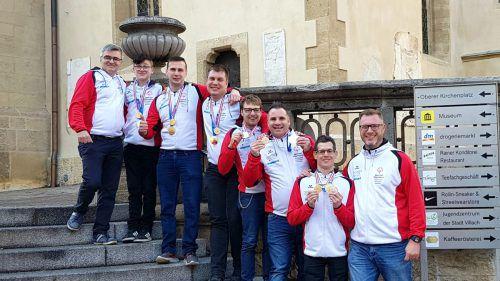 Vorarlberg stellte das beste Floorballteam bei den nationalen Winterspielen 2020 der Special Olympics in Villach.SOÖVorarlberg