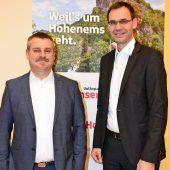 Gerhard Stoppel zieht für VP Hohenems in Gemeindewahlkampf