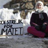 Greta gibt in Davos den Ton an