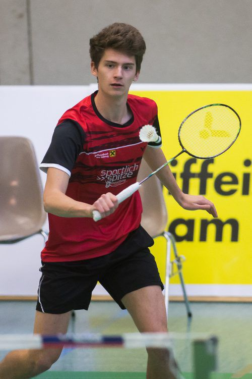 Youngster Kilian Meusburger blieb in vier Partien ohne Teilerfolg.Steurer