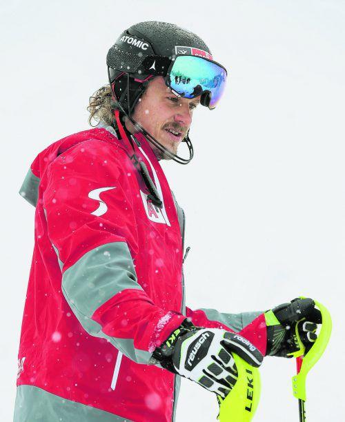Zagreb ist das Ziel. Manuel Feller arbeitet an der Rückkehr in den Weltcup. gepa
