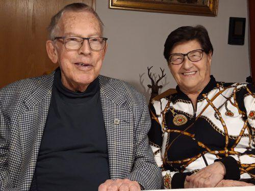 60 gemeinsame Jahre haben das Jubelpaar zusammengeschweißt. KL