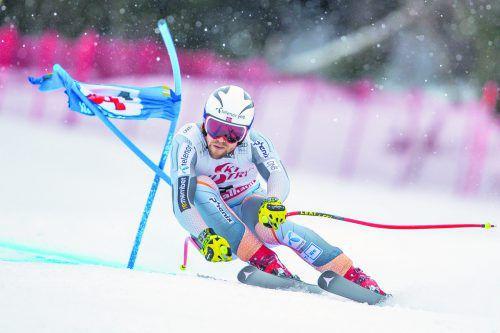 Aleksander Aamodt Kilde katapultierte sich mit dem Sieg im Super-G von Saalbach im Gesamtweltcup an die Spitze.apa