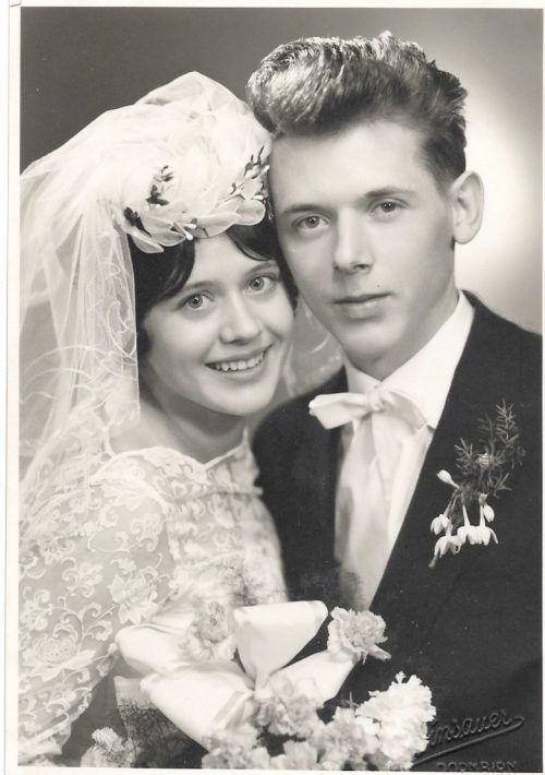Am 13. Februar 1960 gaben sich Ilse und Hugo Fritsch das Jawort. Fritsch