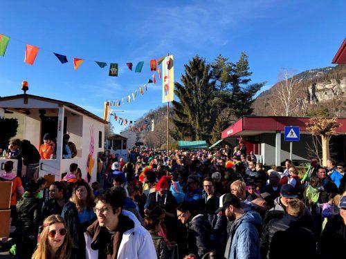 Am 9. Februar startet das Faschingstreiben in Bludenz mit dem Rungeliner Maskenlauf.VERANSTALTER