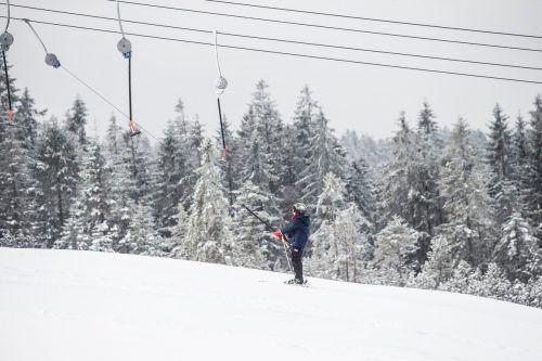 Am Bödele hofft man auf mehr Schnee.