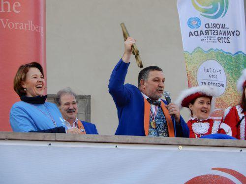 Am kommenden Dienstag nehmen die Narren Bürgermeisterin Andrea Kaufmann wieder die Stadtschlüssel ab. cth