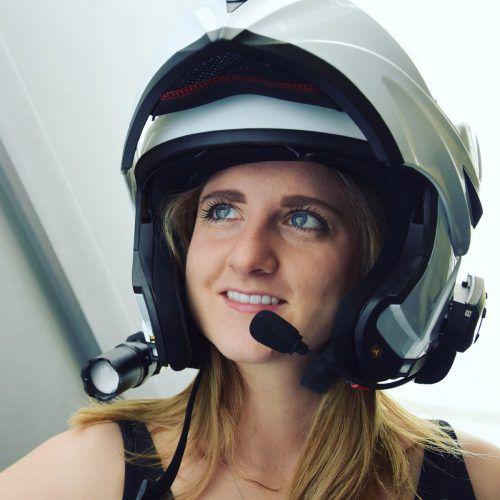 Analogastronautin im Einsatz: Sabrina Kerber war auf Mondmission. Kerber