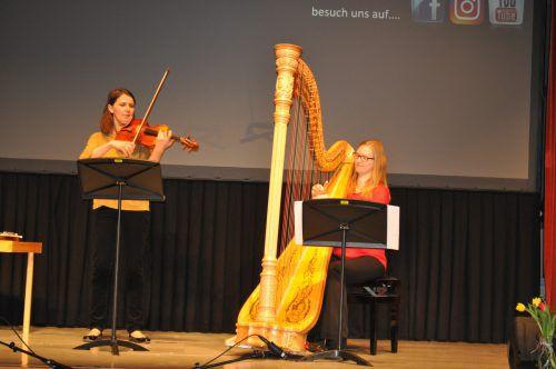 Andrea Gamper spielte beim Lehrerkonzert auf.LM