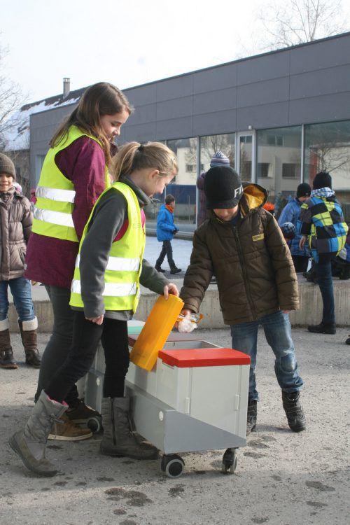 Auch bei Kindern gilt es Bewusstsein zur Müllvermeidung zu schaffen.Stadt Bludenz