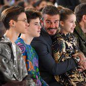 Viele Promis bei Fashion Week – Mundschutz als Modeaccessoire