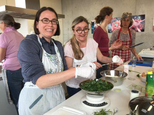 Auch interessante Kochkurse stehen beim OGV Dornbirn in diesem Jahr wieder auf dem Programm. cth