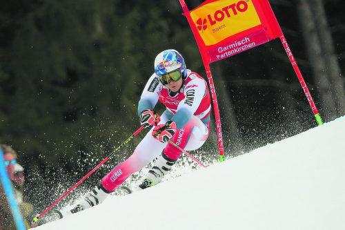 Aufholjagd von Alexis Pinturault im Garmischer Riesentorlauf, er fuhr im zweiten Durchgang von Rang vier zum Sieg.ap