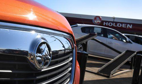 Australische Traditionsautomarke Holden wird von General Motors ausrangiert.AFP