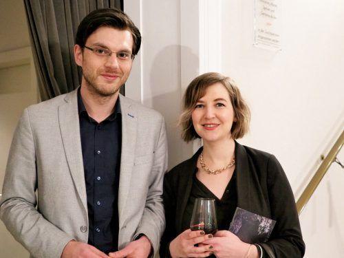 Autor Max Lang und Komponistin Heidi Caviezel.