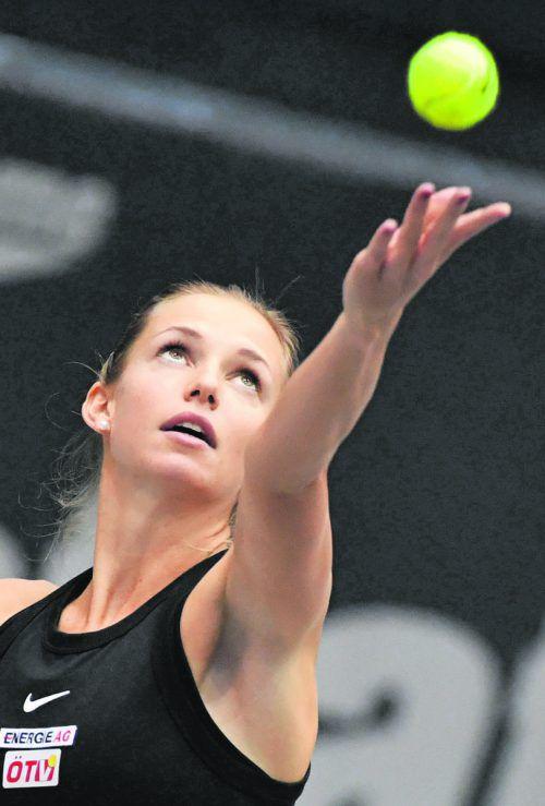 Barabra Haas steht beim Turnier in Hua Hin im Achtelfinale.apa