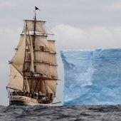 Per Segelschiff durch das Südpolarmeer