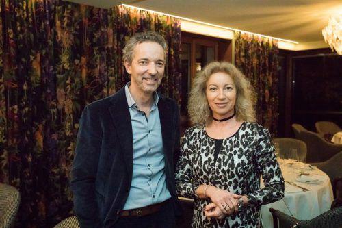 Begeisterte Gäste: Marco David und Eva Molnar-Thielmann.