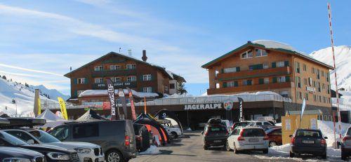 Beim Hotel Jägeralpe in Warth sind Umbauarbeiten geplant.