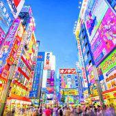 Die Megacity Tokio