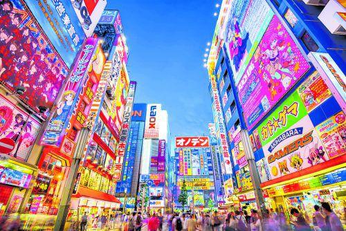 Bunt, groß, schrill: Tokio ist mit europäischen Städten nicht zu vergleichen.