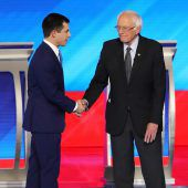 Sanders und Buttigieg in der Favoritenrolle