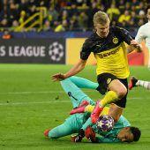 Haaland-Show mit Doppelpack sichert Dortmund den Sieg