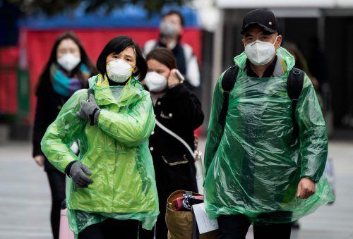 China hat die Restriktionen für öffentliches Leben teilweise gelockert. AFP