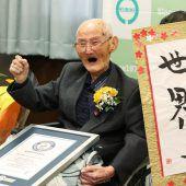 Ältester Mann der Welt lebt in Japan
