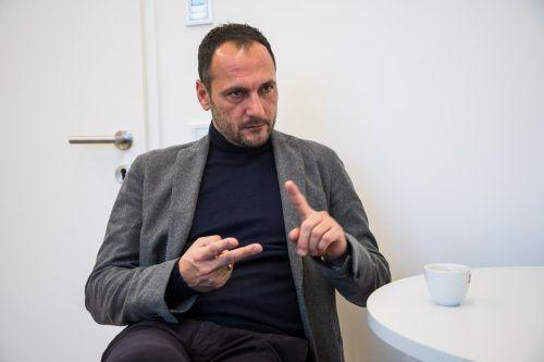 Christian Möckel treibt die Professionalisierung beim SCR Altach weiter voran.Steurer