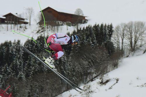 Christian Walder überraschte im Training mit Rang zwei. Am schnellsten unterwegs war der Schweizer Ralph Weber, der wegen seiner Freundin viel Zeit in Vorarlberg verbringt. gepa