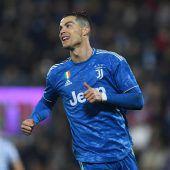 Ronaldo egalisiert Liga-Bestmarke bei Juventus-Sieg